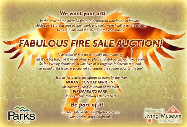 Fabulous Fire Sale Flyer